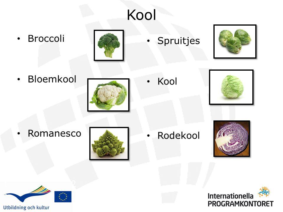 Kool Broccoli Bloemkool Romanesco Spruitjes Kool Rodekool 1 2 3 4 5