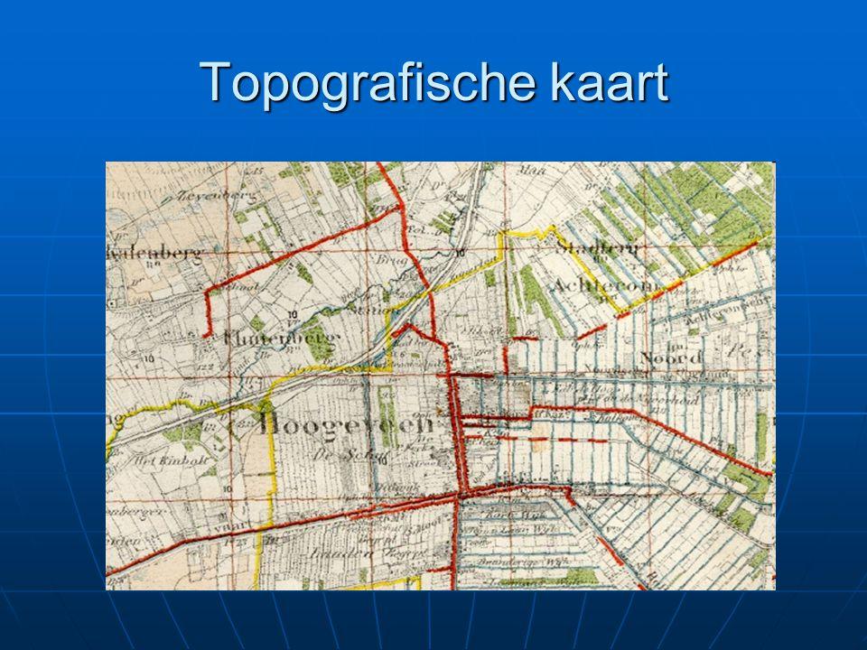 Topografische kaart