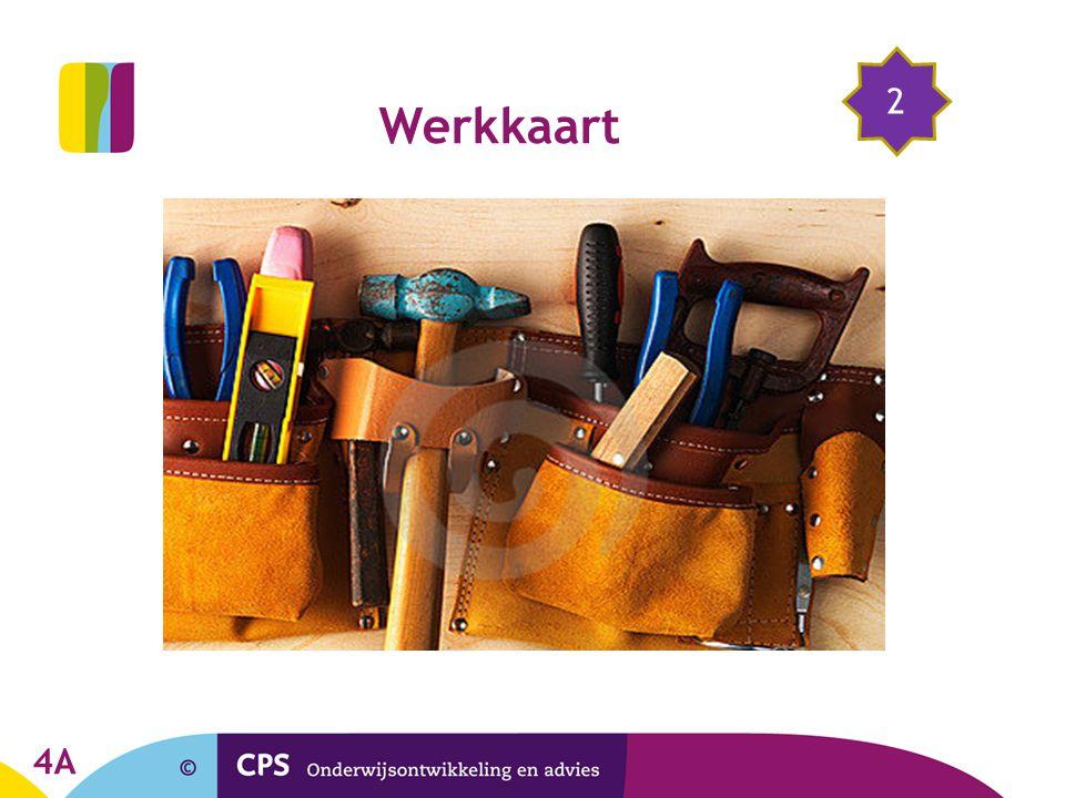 2 Werkkaart 4A