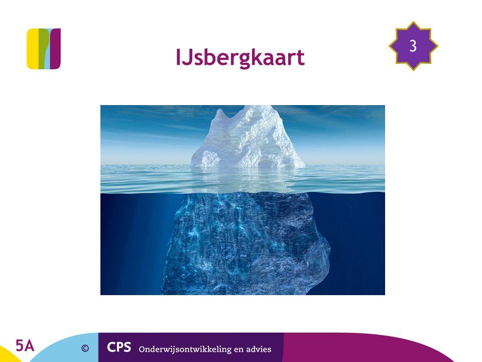 5A 3 IJsbergkaart