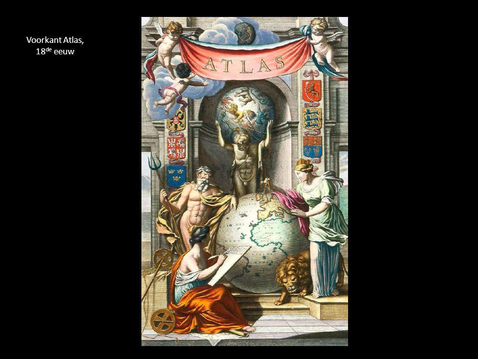 Voorkant Atlas, 18 de eeuw