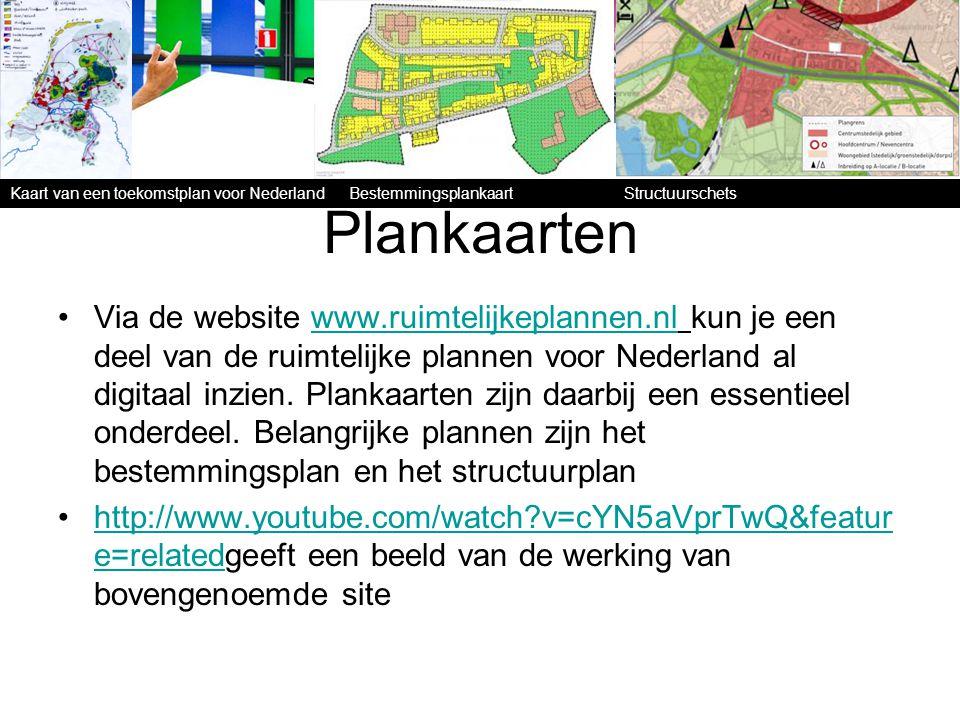 Plankaarten Via de website www.ruimtelijkeplannen.nl kun je een deel van de ruimtelijke plannen voor Nederland al digitaal inzien. Plankaarten zijn da