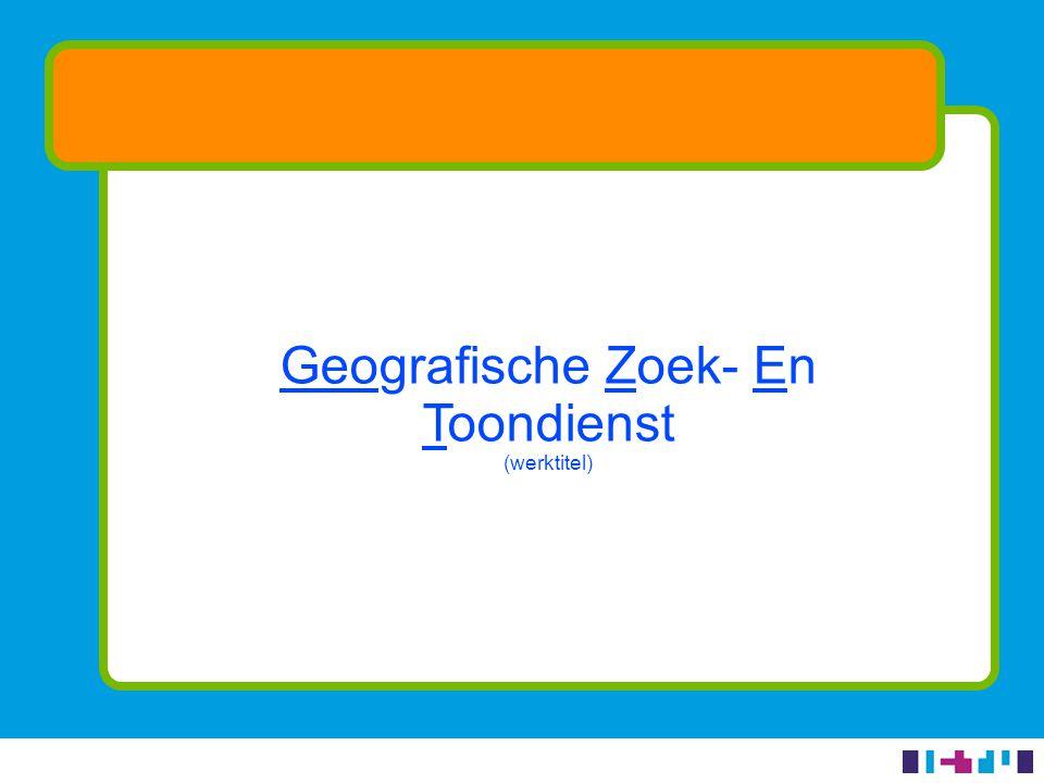 Concrete resultaten (2/4) Webservice ondergrondkaart - Basisregistratie Topografie - Gebruiksvriendelijke kaartvisualisatie - Goede performance - Webrichtlijnen-proof - Beschikbaar voor derden (via PDOK)