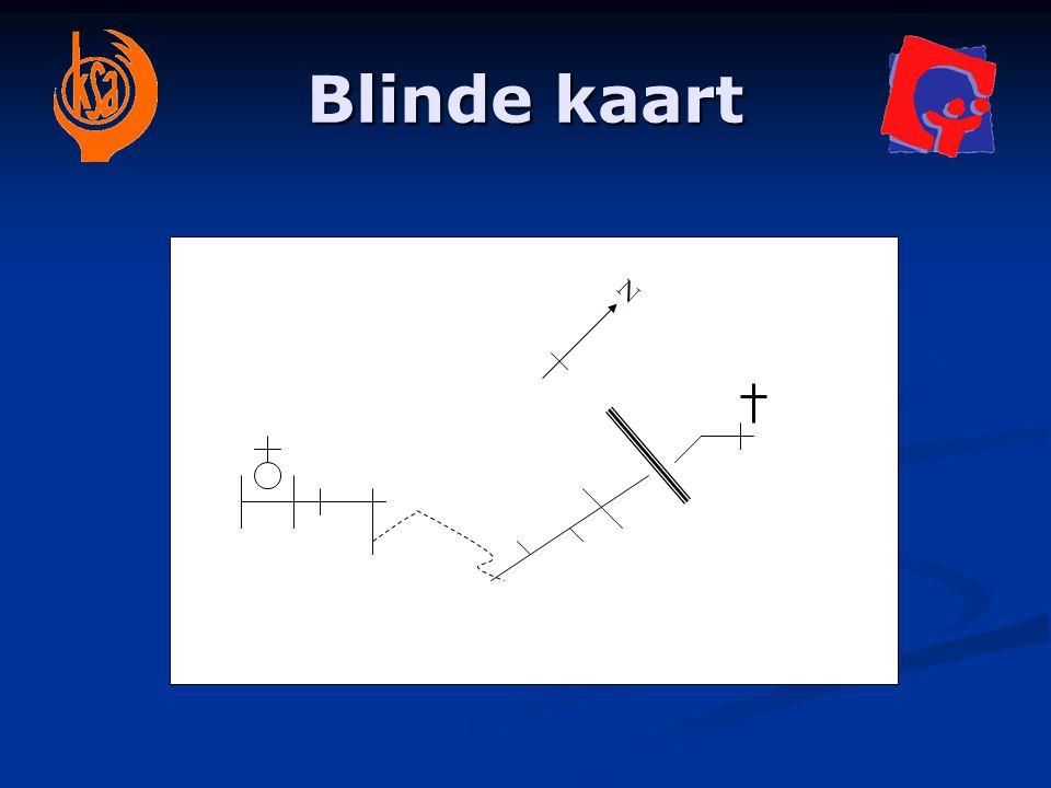 Blinde kaart N