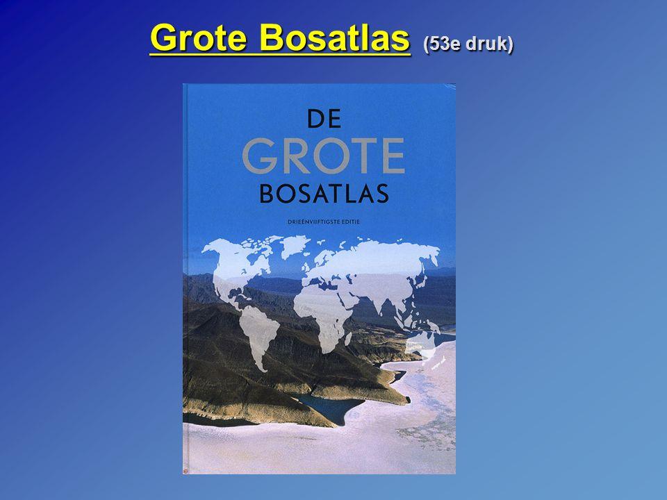 Grote Bosatlas (53e druk)