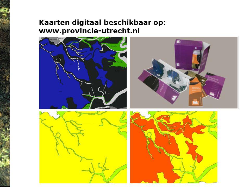 Kaarten digitaal beschikbaar op: www.provincie-utrecht.nl