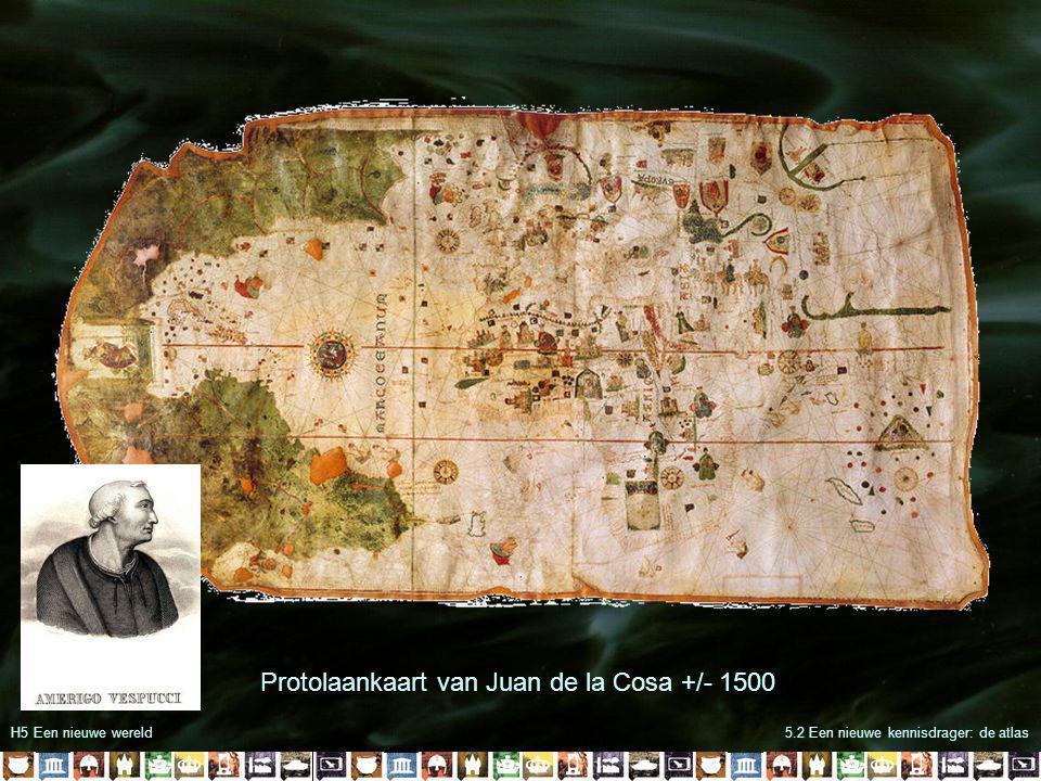 H5 Een nieuwe wereld5.2 Een nieuwe kennisdrager: de atlas Waldseemüllerkaart 1507