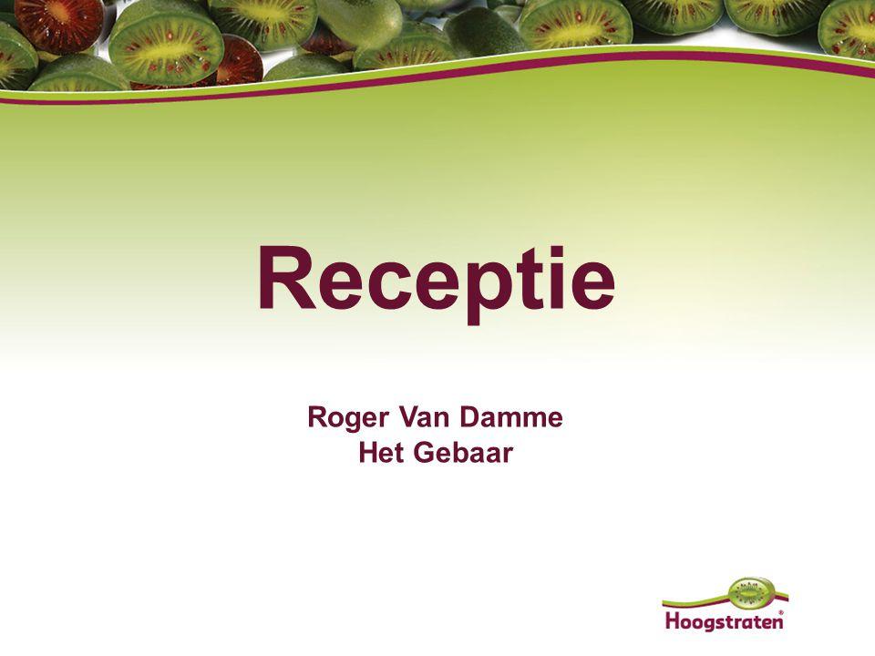 Receptie Roger Van Damme Het Gebaar