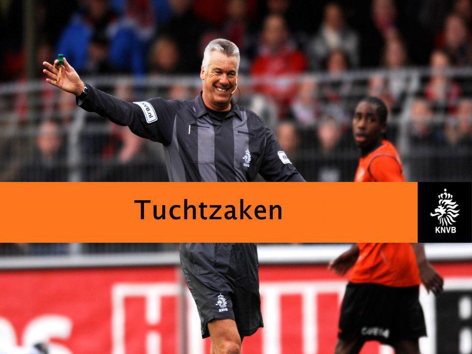 KNVB Academie // Tuchtzaken // www.knvb.nl Inleiding Indien een scheidsrechter in een wedstrijd disciplinaire maatregelen neemt, krijgt hij te maken met het tuchtrecht.