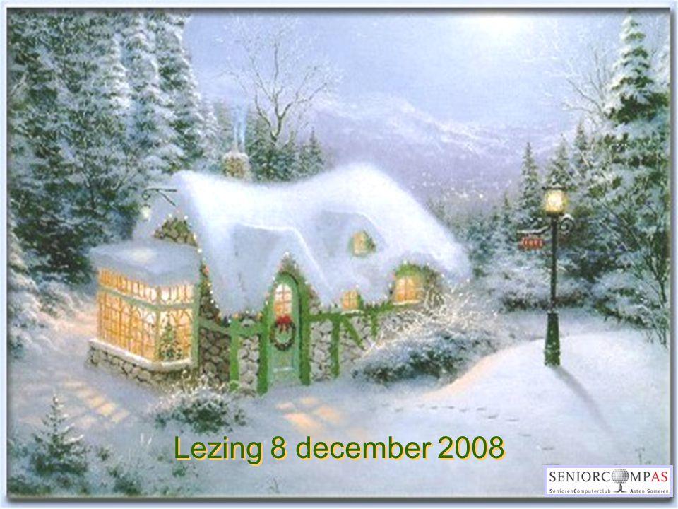 Lezing 8 december 2008