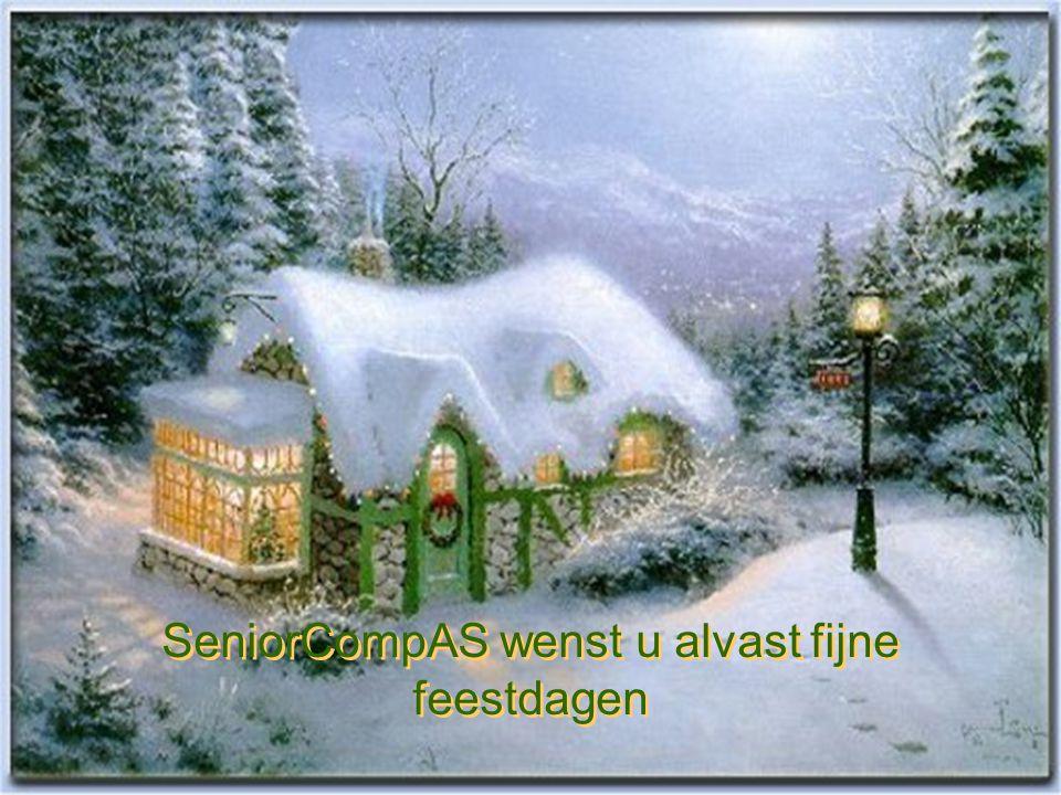 SeniorCompAS wenst u alvast fijne feestdagen