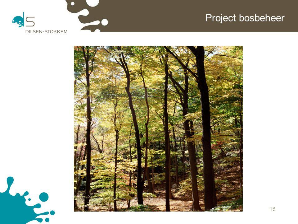 18 Project bosbeheer