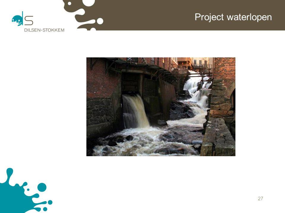 27 Project waterlopen