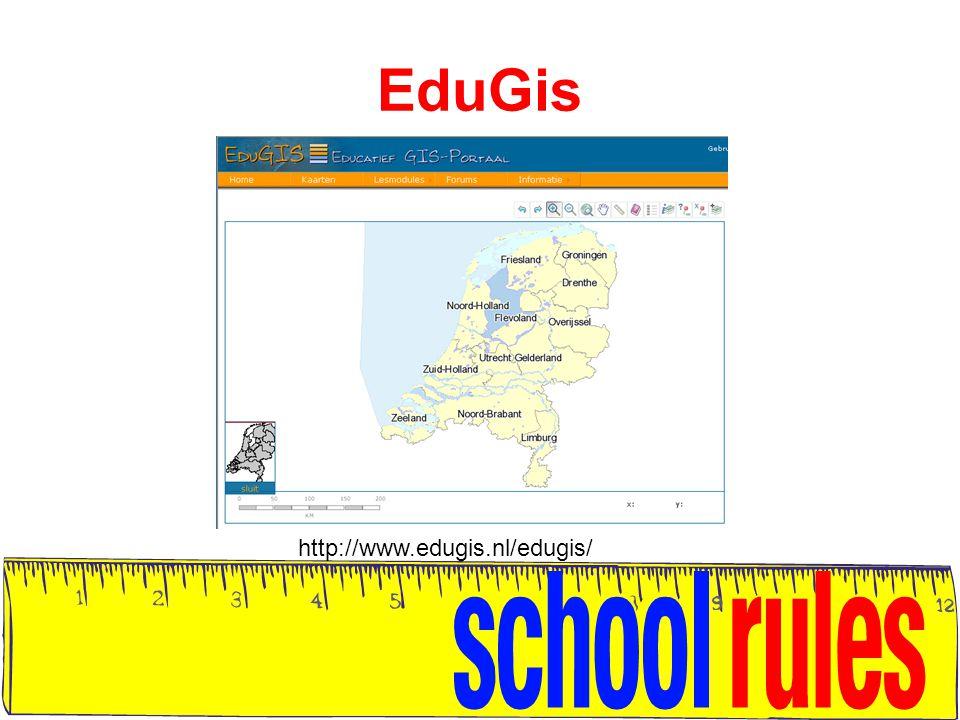 EduGis http://www.edugis.nl/edugis/