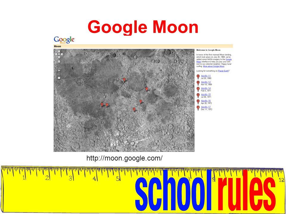 Google Moon http://moon.google.com/