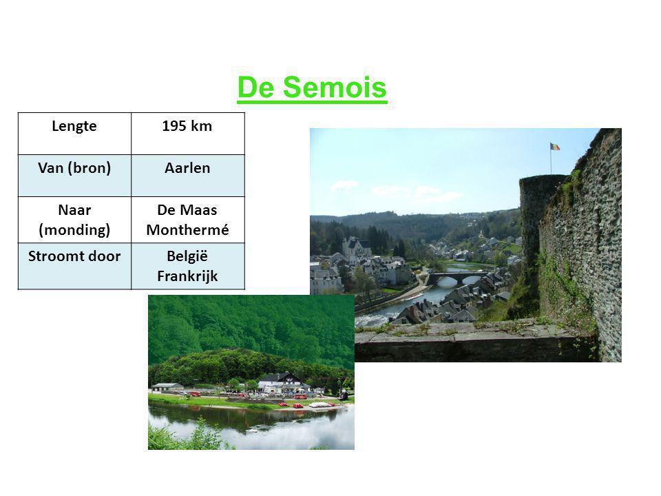 Lengte195 km Van (bron)Aarlen Naar (monding) De Maas Monthermé Stroomt doorBelgië Frankrijk