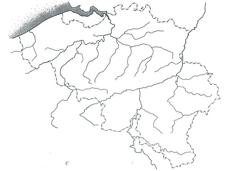 Rivieren in West-Vlaanderen  de IJzer  de Leie  de Mandel