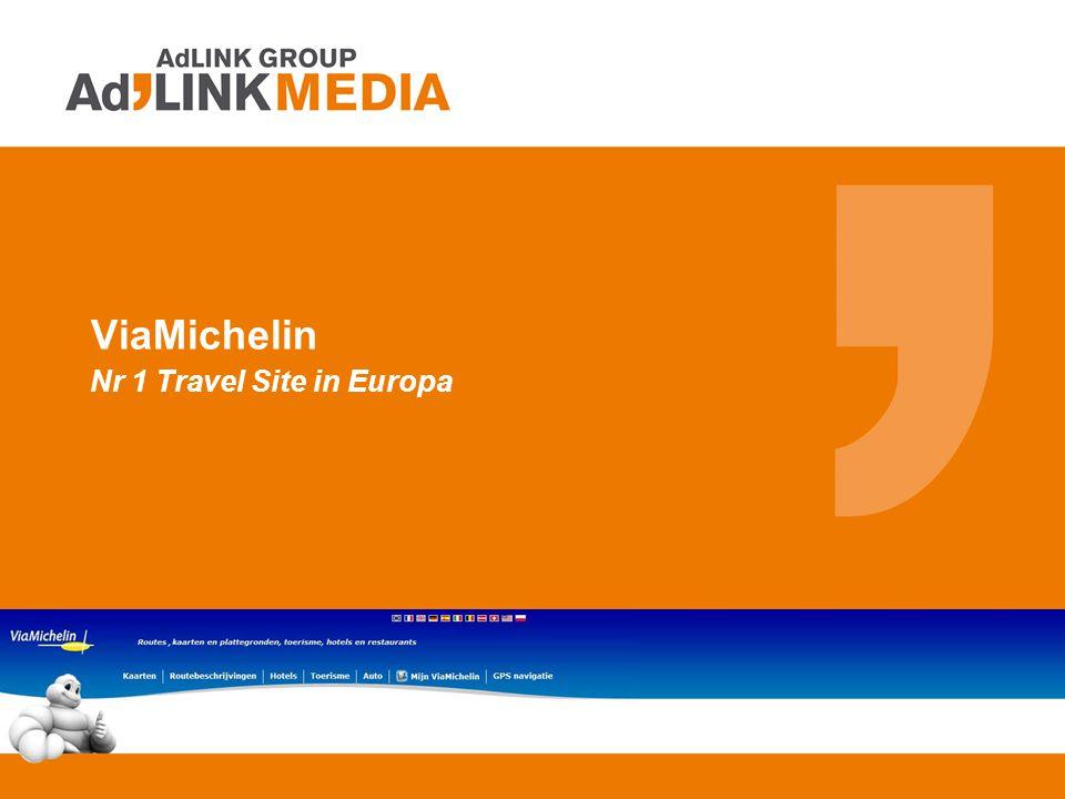 ViaMichelin Nr 1 Travel Site in Europa