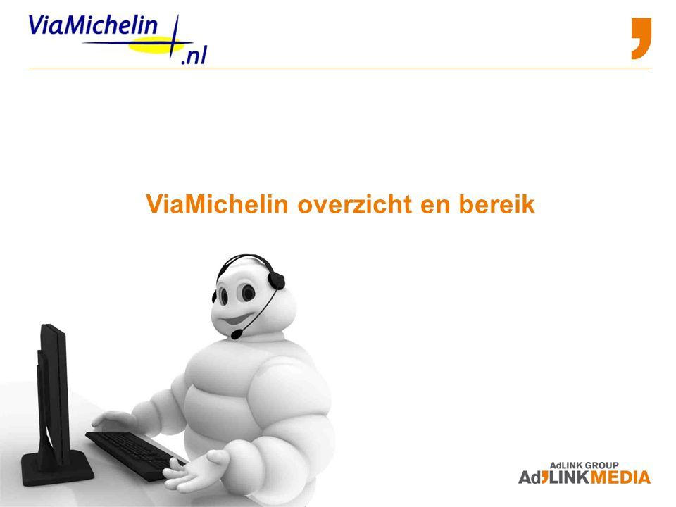 Advertising and Sponsorship Opportunities ViaMichelin overzicht en bereik