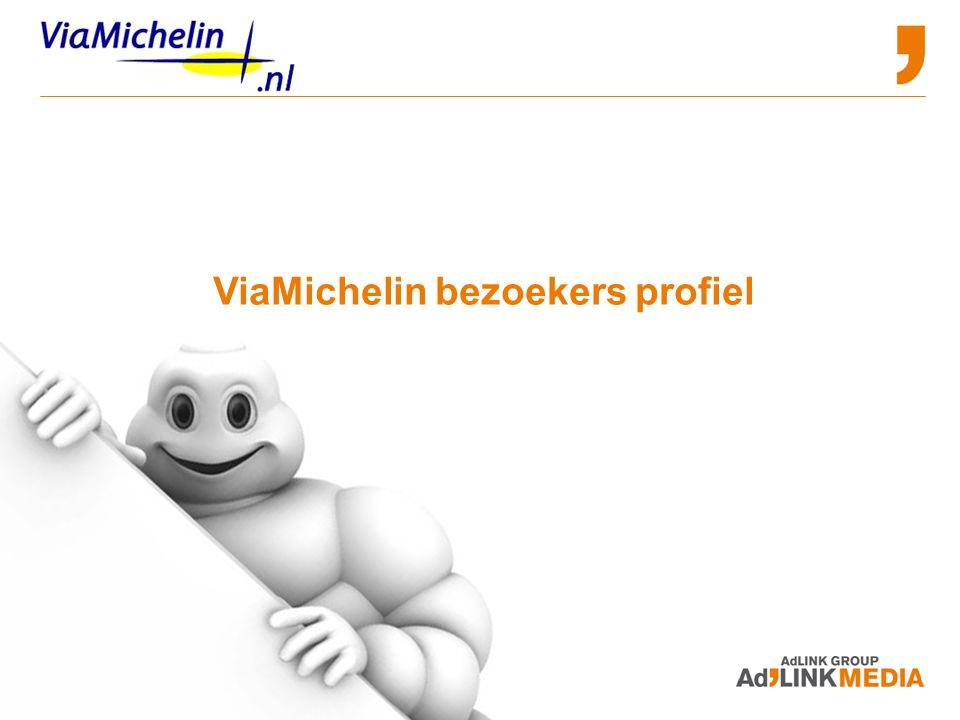 Advertising and Sponsorship Opportunities ViaMichelin bezoekers profiel