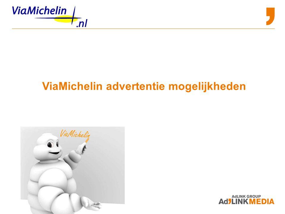 Advertising and Sponsorship Opportunities ViaMichelin advertentie mogelijkheden