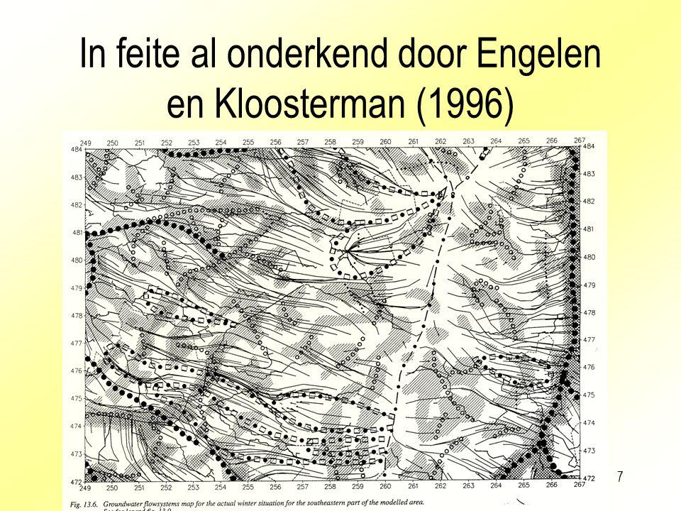 7 In feite al onderkend door Engelen en Kloosterman (1996)