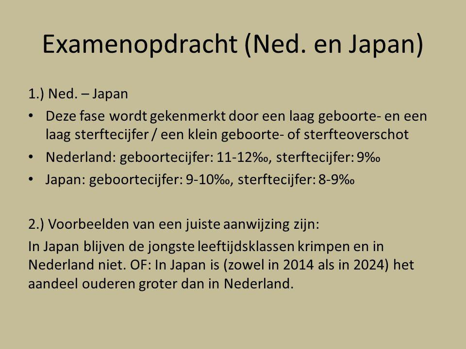 Examenopdracht (Ned.en Japan) 1.) Ned.