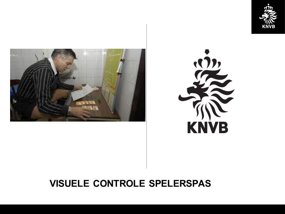 VISUELE CONTROLE SPELERSPAS
