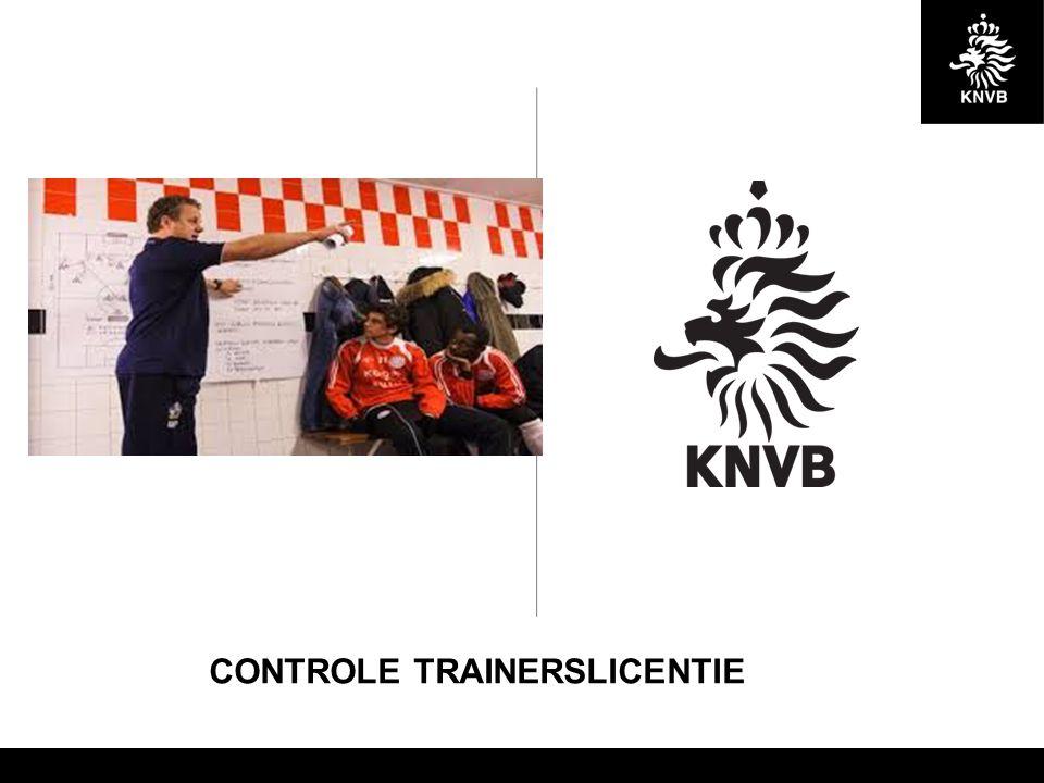 CONTROLE TRAINERSLICENTIE