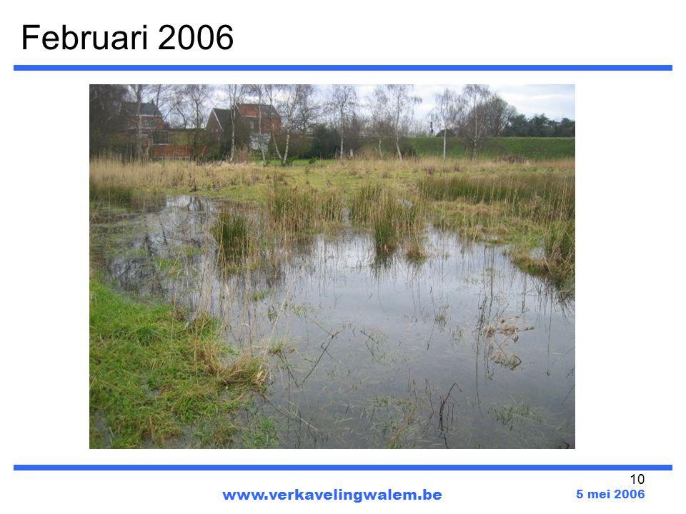 10 Februari 2006 www.verkavelingwalem.be 5 mei 2006