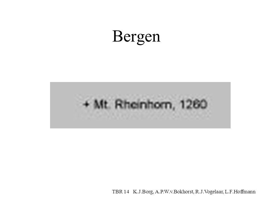 Rivieren TBR 14 K.J.Borg, A.P.W.v.Bokhorst, R.J.Vogelaar, L.F.Hoffmann