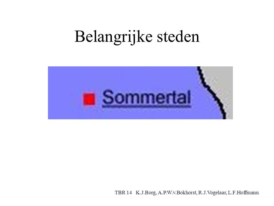 Bergen TBR 14 K.J.Borg, A.P.W.v.Bokhorst, R.J.Vogelaar, L.F.Hoffmann
