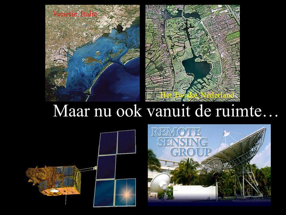 Veenendaal, Nederland We kunnen de aarde bekijken vanuit de lucht…