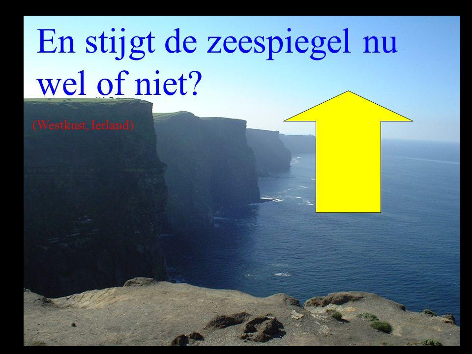 En stijgt de zeespiegel nu wel of niet? (Westkust, Ierland)