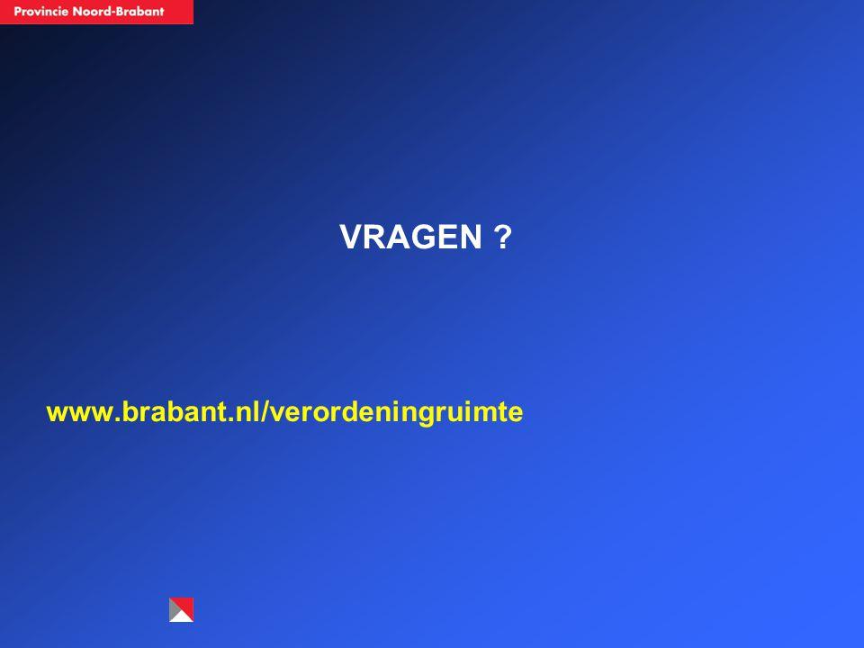 VRAGEN www.brabant.nl/verordeningruimte