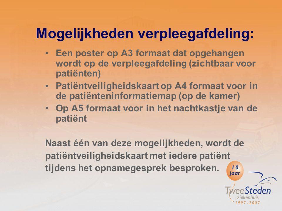 Poster polikliniek Met behulp van 'tips voor in de spreekkamer' tekst gemaakt in overleg met medisch specialist Hierbij illustraties laten maken