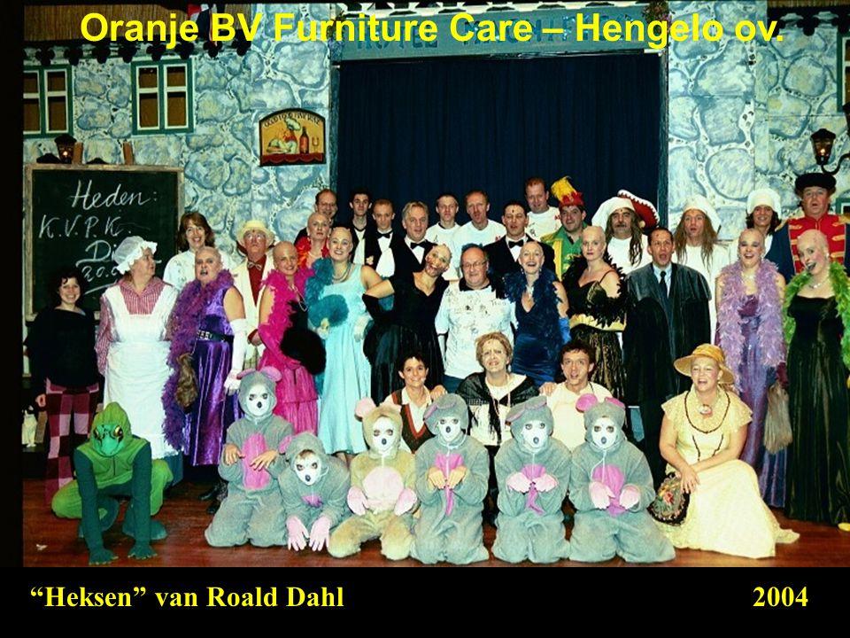 """Heksen"" van Roald Dahl2004 Oranje BV Furniture Care – Hengelo ov."