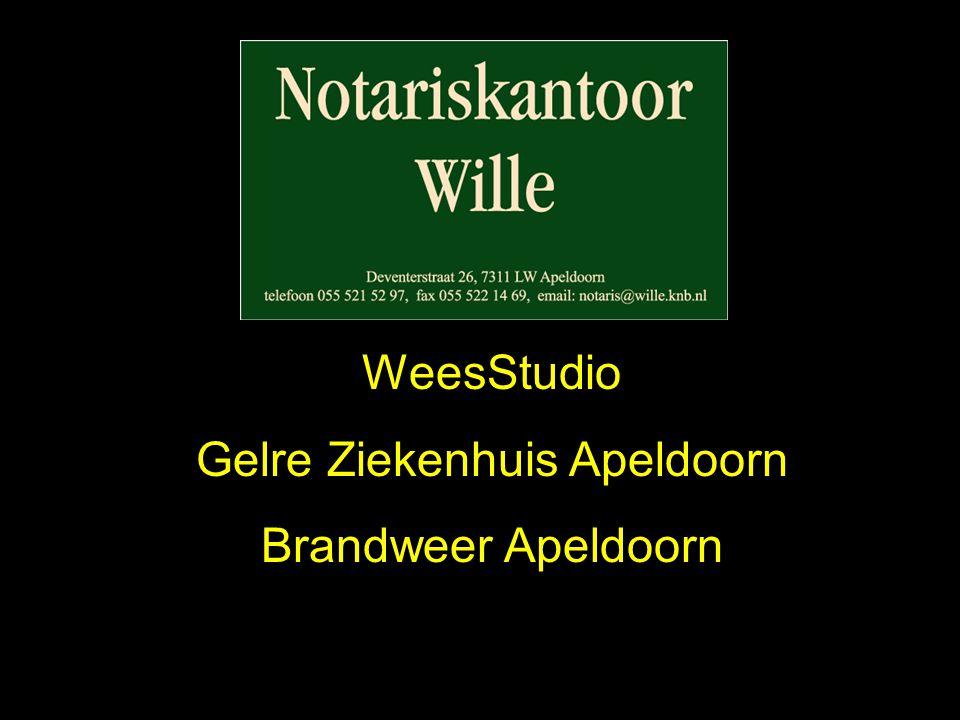 WeesStudio Gelre Ziekenhuis Apeldoorn Brandweer Apeldoorn