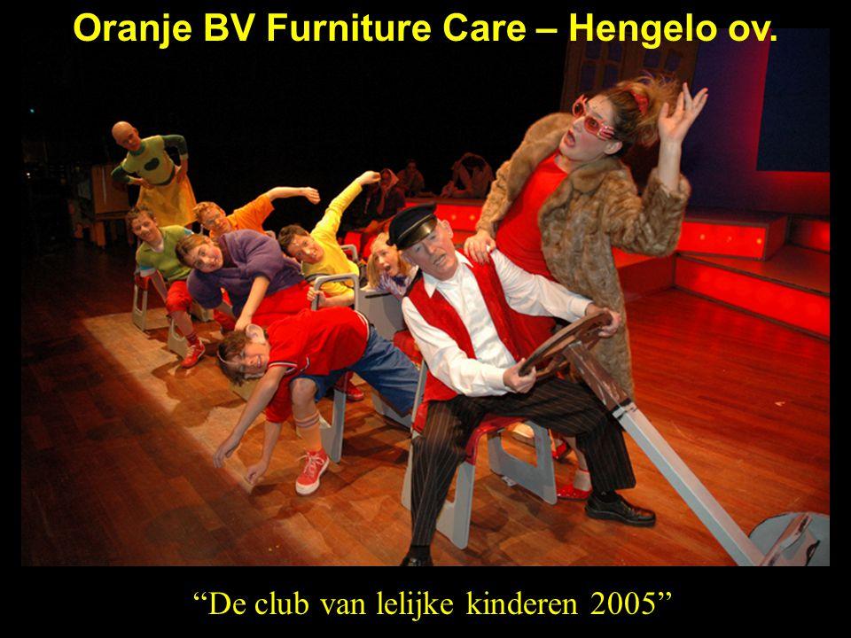 """""""De club van lelijke kinderen 2005"""" Oranje BV Furniture Care – Hengelo ov."""