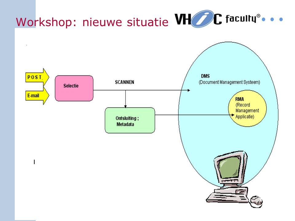 16 Workshop: oude situatie