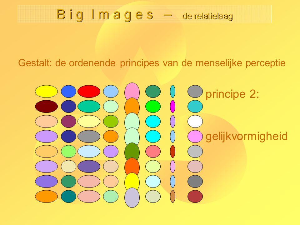 B i g I m a g e s – de relatielaag Kees van Overveld Niet-locale effecten: subjectieve vormen -38- Subjectieve vormen ontstaan doordat randinformatie wordt doorgegeven tussen naast elkaar liggende rand-detectoren.