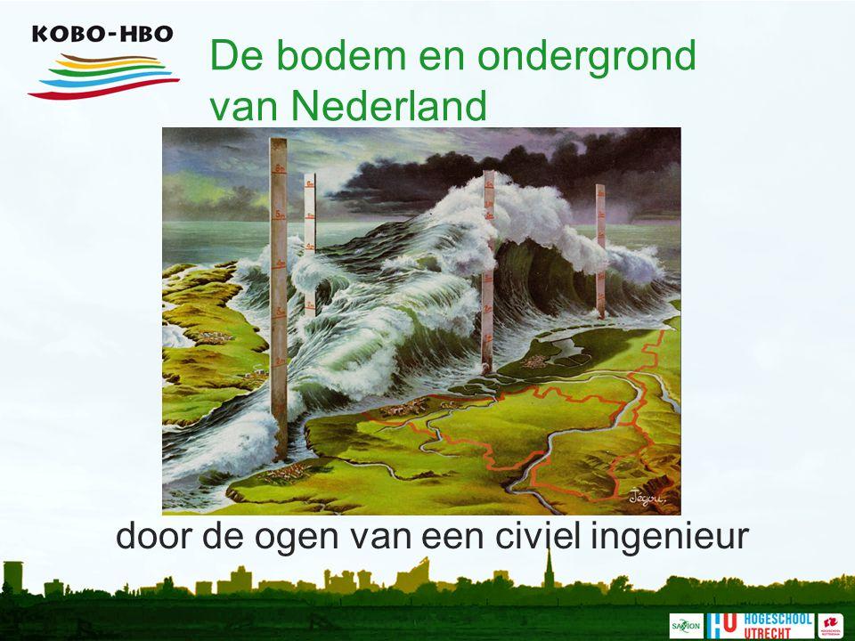 De bodem en ondergrond van Nederland door de ogen van een civiel ingenieur