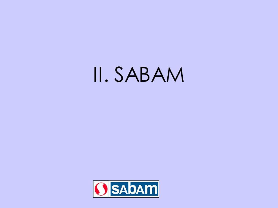 II. SABAM