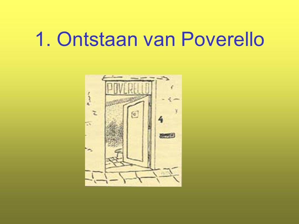 1. Ontstaan van Poverello