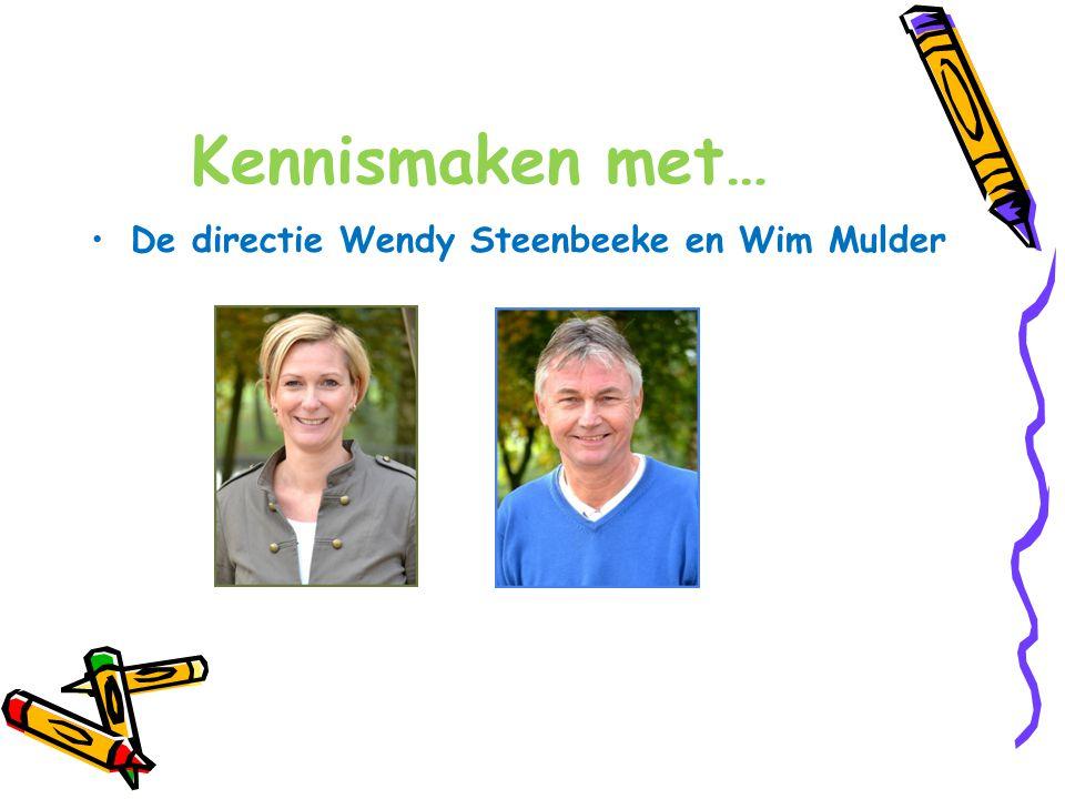 Kennismaken met… De directie Wendy Steenbeeke en Wim Mulder