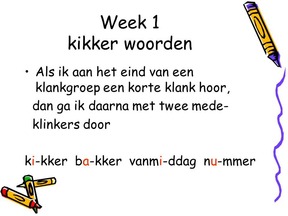 Week 10 Als je tijt hoort aan het eind van een woord, schrijf je teit Net als : majesteit Behalve bij een samenstelling met het woord tijd