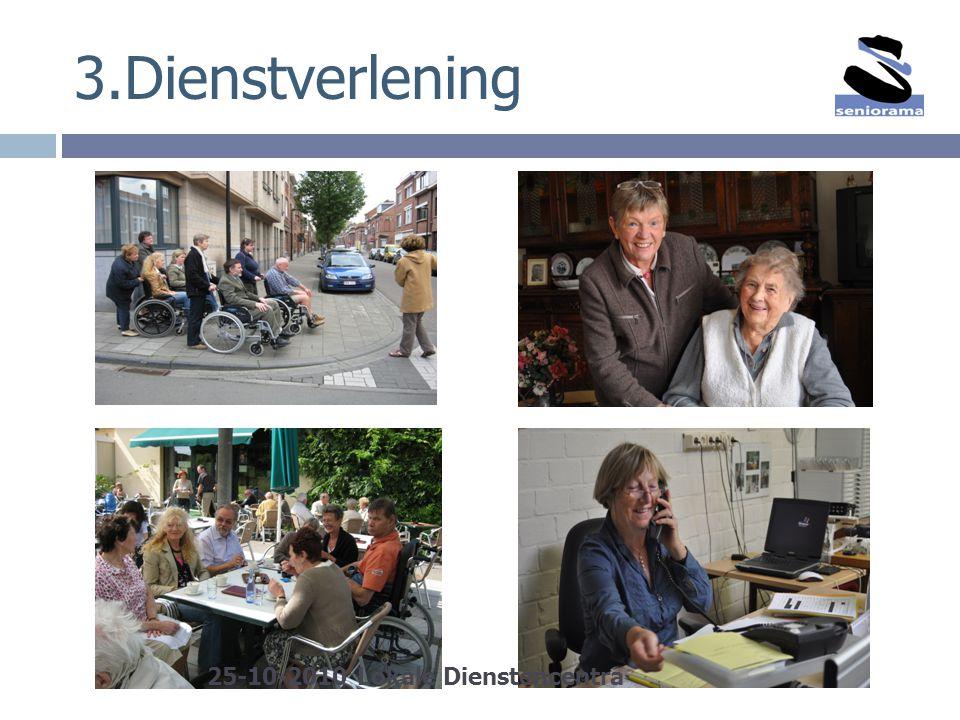 3.Dienstverlening 25-10-2010 Lokale Dienstencentra