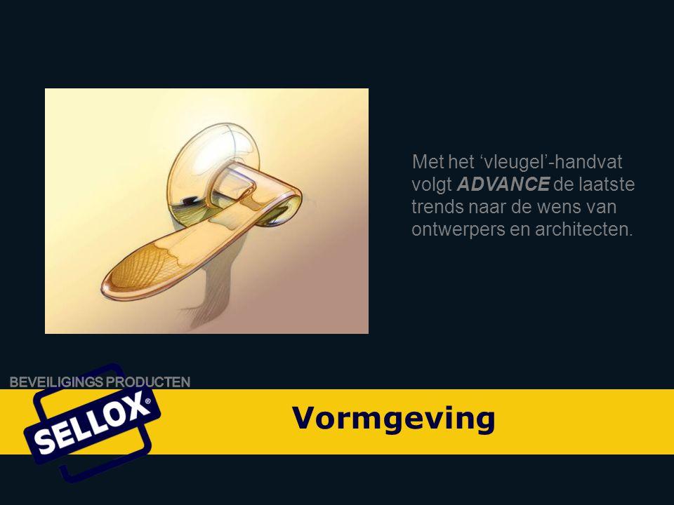 Onity Advance by SELLOX Met het 'vleugel'-handvat volgt ADVANCE de laatste trends naar de wens van ontwerpers en architecten.