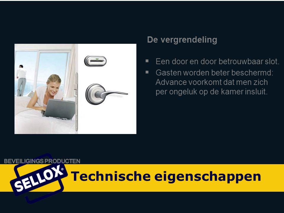 Onity Advance by SELLOX  Overeenkomstig de bekende degelijkheid en betrouwbaarheid van de huidige generatie Onity-sloten.