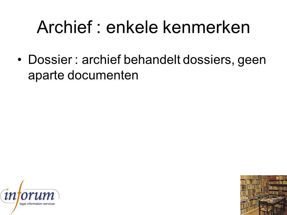 Inventaris : voorbeeld van Sint- Pieters-Leeuw Ref.